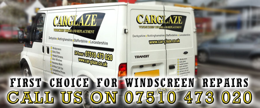 CarGlaze, your first choice for windscreen repair, chipped windscreen repair, mobile windscreen repair and insurance approved windscreen repair in Ashby De La Zouch.