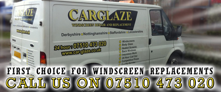 CarGlaze, your first choice for windscreen replacement, cracked windscreen replacement, mobile windscreen replacement and insurance approved windscreen replacement in Ashby De La Zouch.